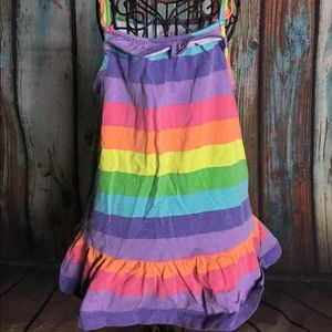 EUC-Carter's baby girl rainbow dress 12M worn once
